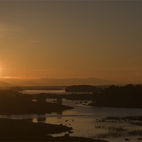 Buy canvas prints of Rannoch Moor Sunrise by Thomas Schaeffer
