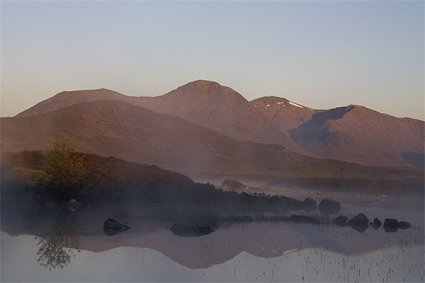 Rannoch Moor sunrise Canvas print by Thomas Schaeffer