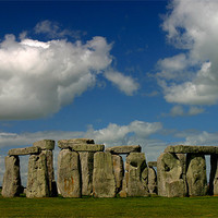 Buy canvas prints of Stonehenge by Thomas Schaeffer