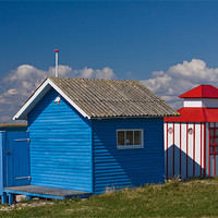 Buy canvas prints of Strandhouses by Thomas Schaeffer