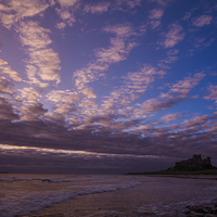 Buy canvas prints of Bamburgh Castle by Thomas Schaeffer
