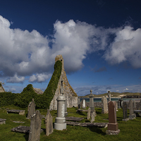 Buy canvas prints of Durness cemetary by Thomas Schaeffer
