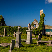 Buy canvas prints of Durness cemetery by Thomas Schaeffer