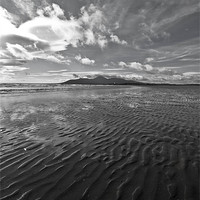 Buy canvas prints of Ripples in the Sand by pauline morris