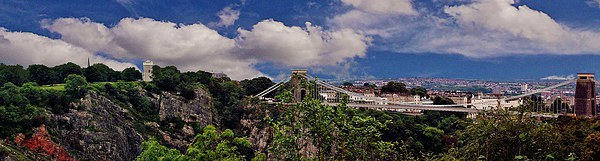 Bristol Suspension Bridge Canvas print by Susie Hawkins