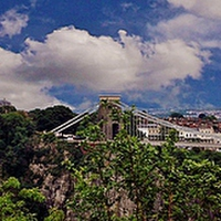 Buy canvas prints of Bristol Suspension Bridge by Susie Hawkins