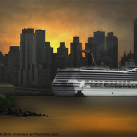 Buy canvas prints of NEW YORK PORT OF CALL by Tom York