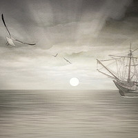Buy canvas prints of Ocean Fantasy by Tom York
