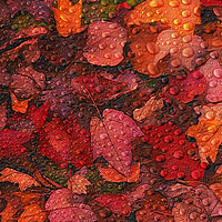 Buy canvas prints of Fallen Leaves by Tom York