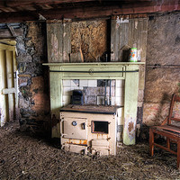Buy canvas prints of Abandoned Cottage, Isle of Harris by Andrew Scoggins