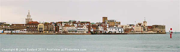 Old Portsmouth Canvas print by John Basford