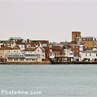 Buy canvas prints of Old Portsmouth by John Basford