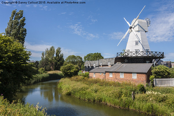 Gibbett Mill, Rye, Sussex, South East England, GB, Canvas Print by Danny Callcut