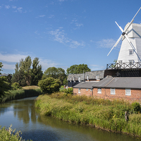 Buy canvas prints of Gibbett Mill, Rye, Sussex, South East England, GB, by Danny Callcut