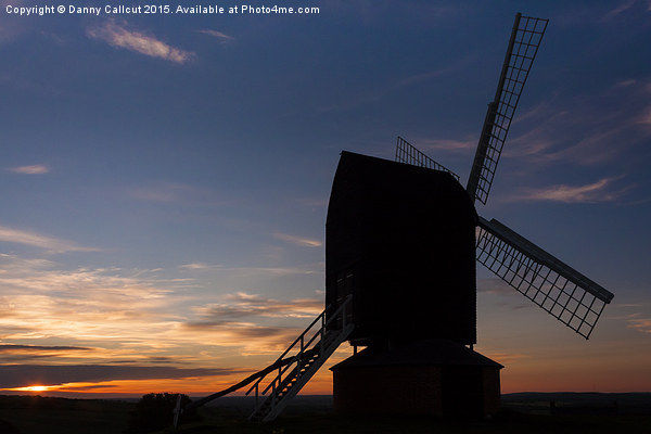 Brill Windmill Canvas Print by Danny Callcut