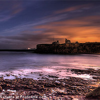 Buy canvas prints of Priory and Bay, Tynemouth by Paul Appleby