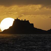 Buy canvas prints of Sunrise - Holy Island by Paul Appleby