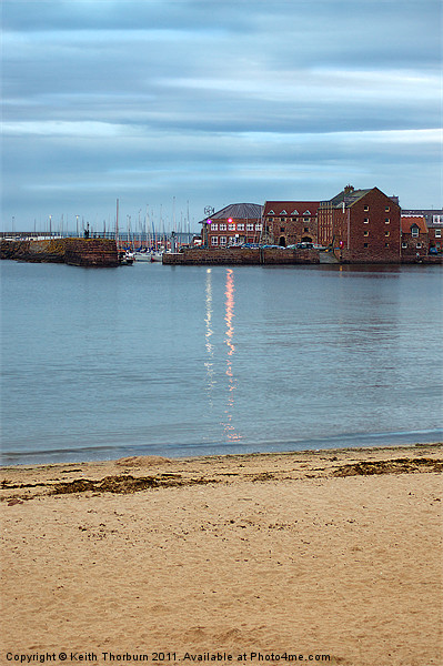 North Berwick Harbour Canvas print by Keith Thorburn