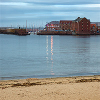 Buy canvas prints of North Berwick Harbour by Keith Thorburn