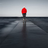 Buy canvas prints of Long Walk to Nowhere by Keith Thorburn