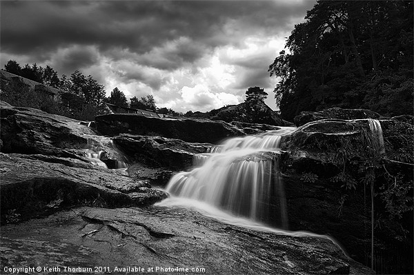 Falls of Dochart Canvas print by Keith Thorburn