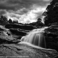 Buy canvas prints of Falls of Dochart by Keith Thorburn