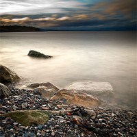 Buy canvas prints of Pebbles to the Forth by Keith Thorburn
