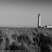 Buy canvas prints of Barns Ness Lighthouse. by Keith Thorburn