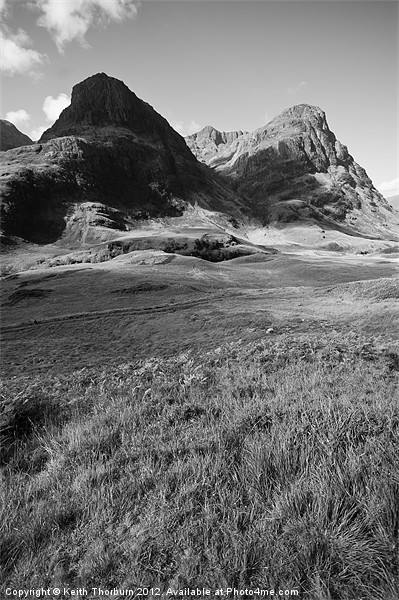 Three Sisters Glencoe Canvas print by Keith Thorburn