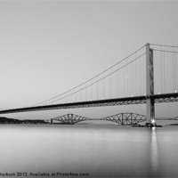 Buy canvas prints of Forth Bridges by Keith Thorburn