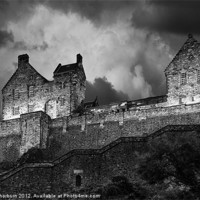 Buy canvas prints of Edinburgh Castle by Keith Thorburn