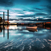 Buy canvas prints of Cockenzie Power Station. by Keith Thorburn