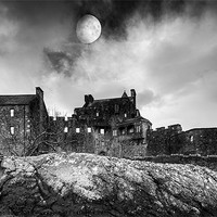 Buy canvas prints of Eilean Donan Castle by Keith Thorburn