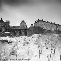 Buy canvas prints of Edinburgh Castle by Keith Thorburn