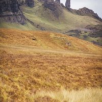 Buy canvas prints of Old Man of Storr by Keith Thorburn