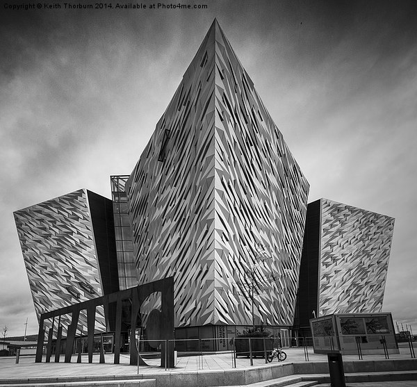 Titanic Tourist Centre Belfast Canvas print by Keith Thorburn