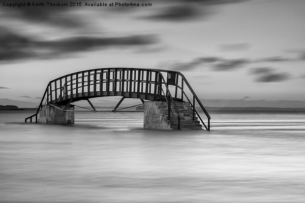 Dunbar Sea Bridge.tif Canvas print by Keith Thorburn