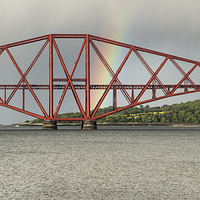 Buy canvas prints of Forth Rail Bridge by Keith Thorburn LRPS
