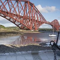 Buy canvas prints of Forth Rail Bridge by Keith Thorburn LRPS
