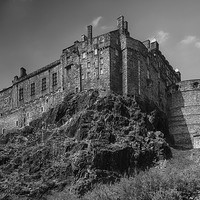 Buy canvas prints of Edinburgh Castle by Keith Thorburn LRPS