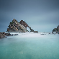 Buy canvas prints of Bow Fiddle Rock by Keith Thorburn LRPS