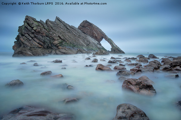 Bow Fiddle Rock Canvas print by Keith Thorburn LRPS