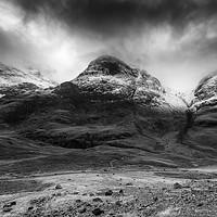 Buy canvas prints of Three Sisters Glencoe by Keith Thorburn LRPS