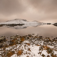 Buy canvas prints of Rannoch Moor  by Keith Thorburn LRPS