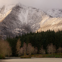 Buy canvas prints of Loch View of Sgorr Dhearg by Keith Thorburn LRPS