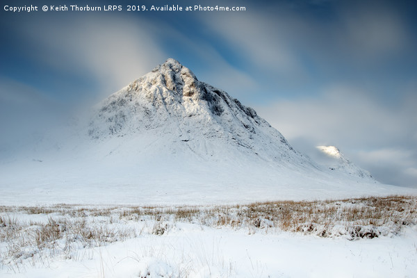 Buachaille Etive Mor Canvas print by Keith Thorburn LRPS