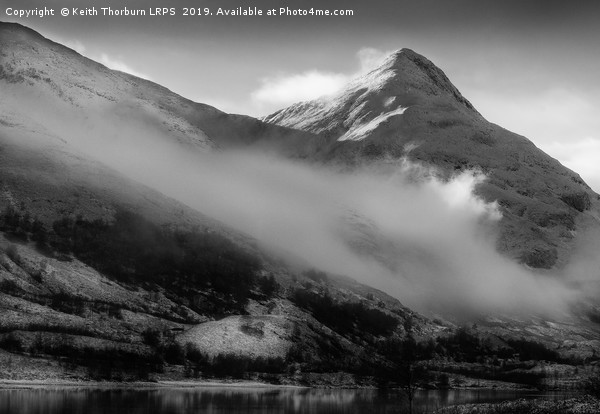 Pap of Glencoe Canvas print by Keith Thorburn LRPS