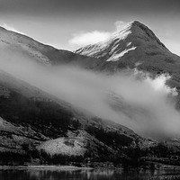 Buy canvas prints of Pap of Glencoe by Keith Thorburn LRPS