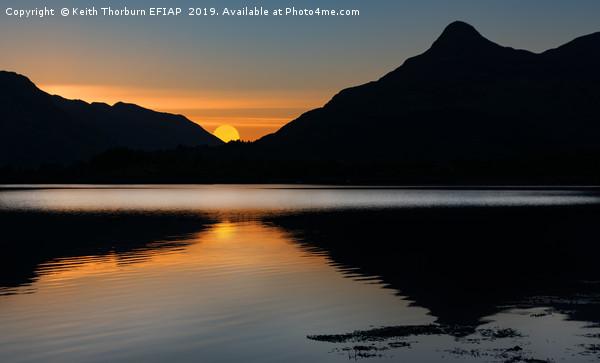 The Pap of Glencoe Sunrise Canvas print by Keith Thorburn EFIAP