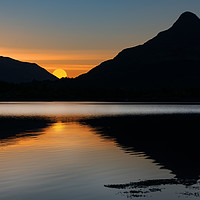 Buy canvas prints of The Pap of Glencoe Sunrise by Keith Thorburn EFIAP